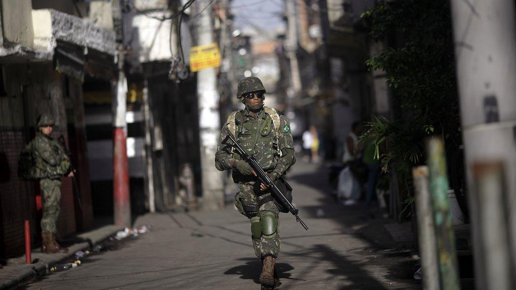 Brasil se militariza para el Mundial