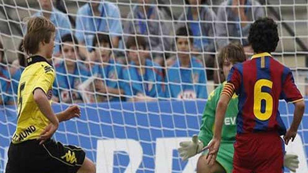 Borussia, frente al Barcelona