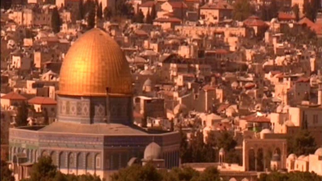 Jerusalén, lleno de iglesias y mezquitas