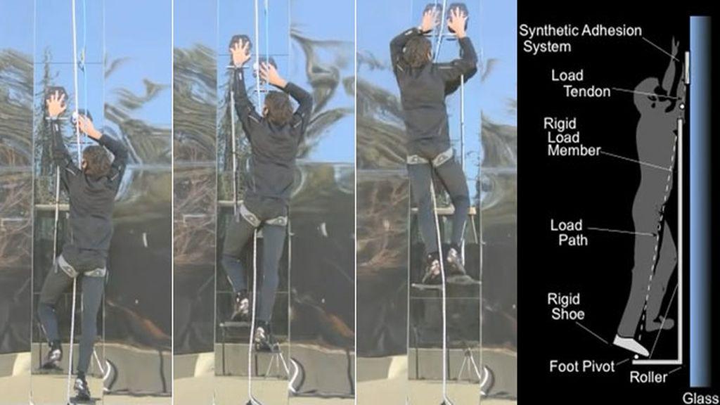 Crean unos guantes que permiten trepar como Spiderman