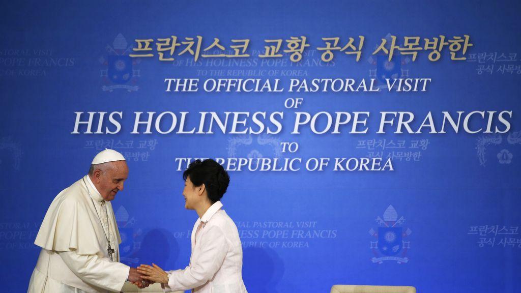 El Papa Francisco en Corea del Sur