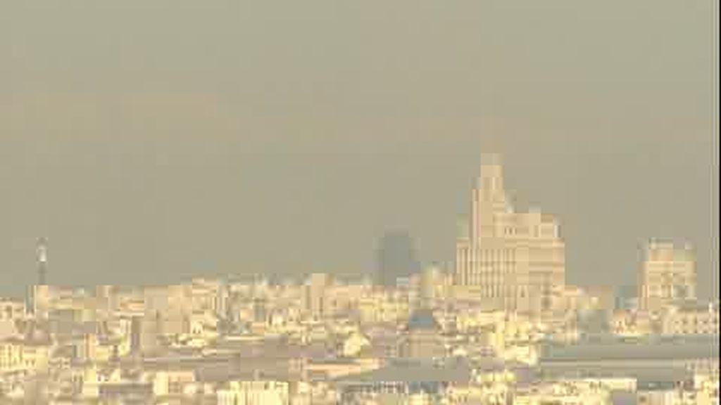 Madrid, agobiada por la contaminación