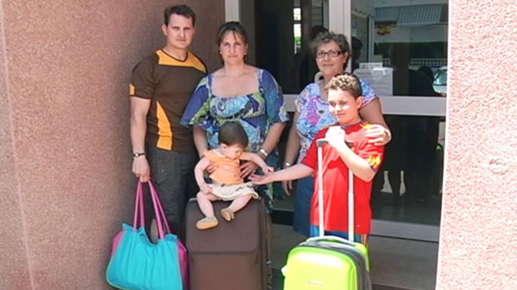 Familia en Gandía