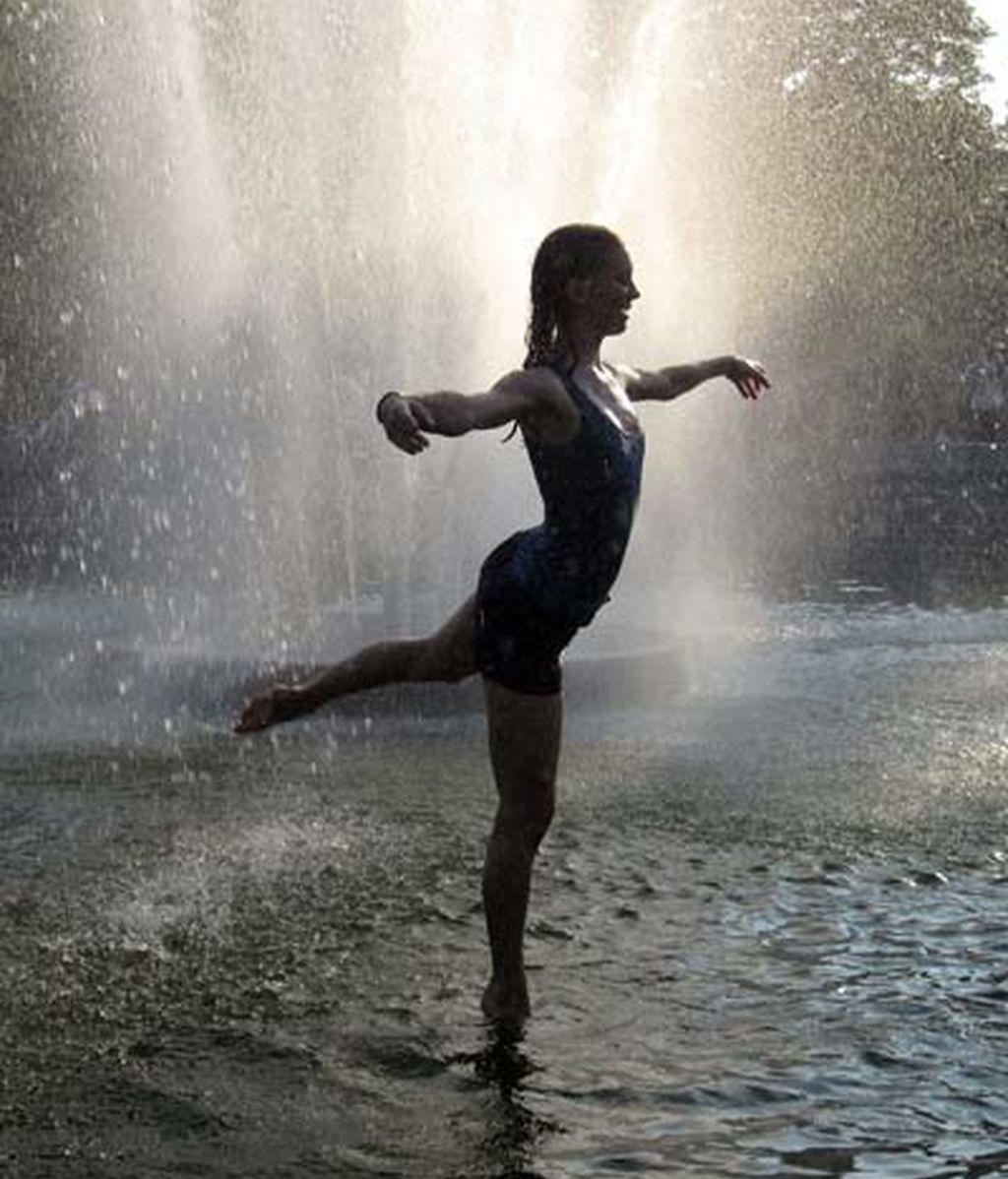 Ballet en una fuente