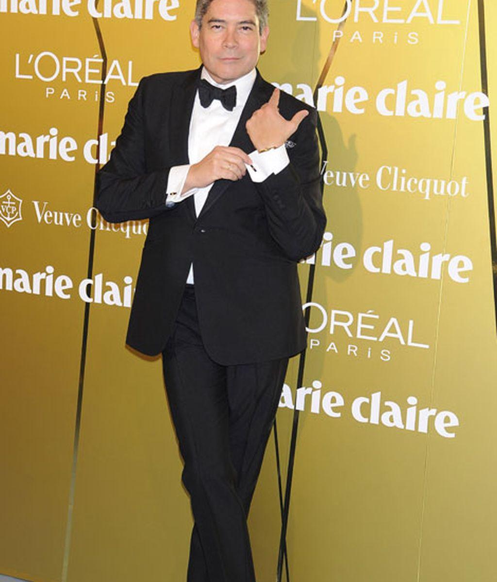 Boris Izaguirre, muy elegante y clásico
