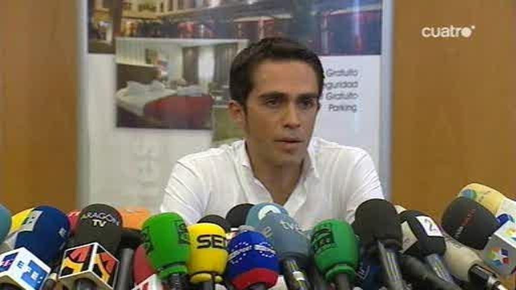 Contador se defiende