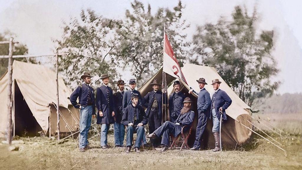 Foto tomada en 1862 por Mathew Brady