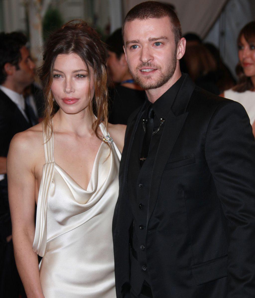 Justin Timberlake y Jessica Biel se dejan fotografiar juntos