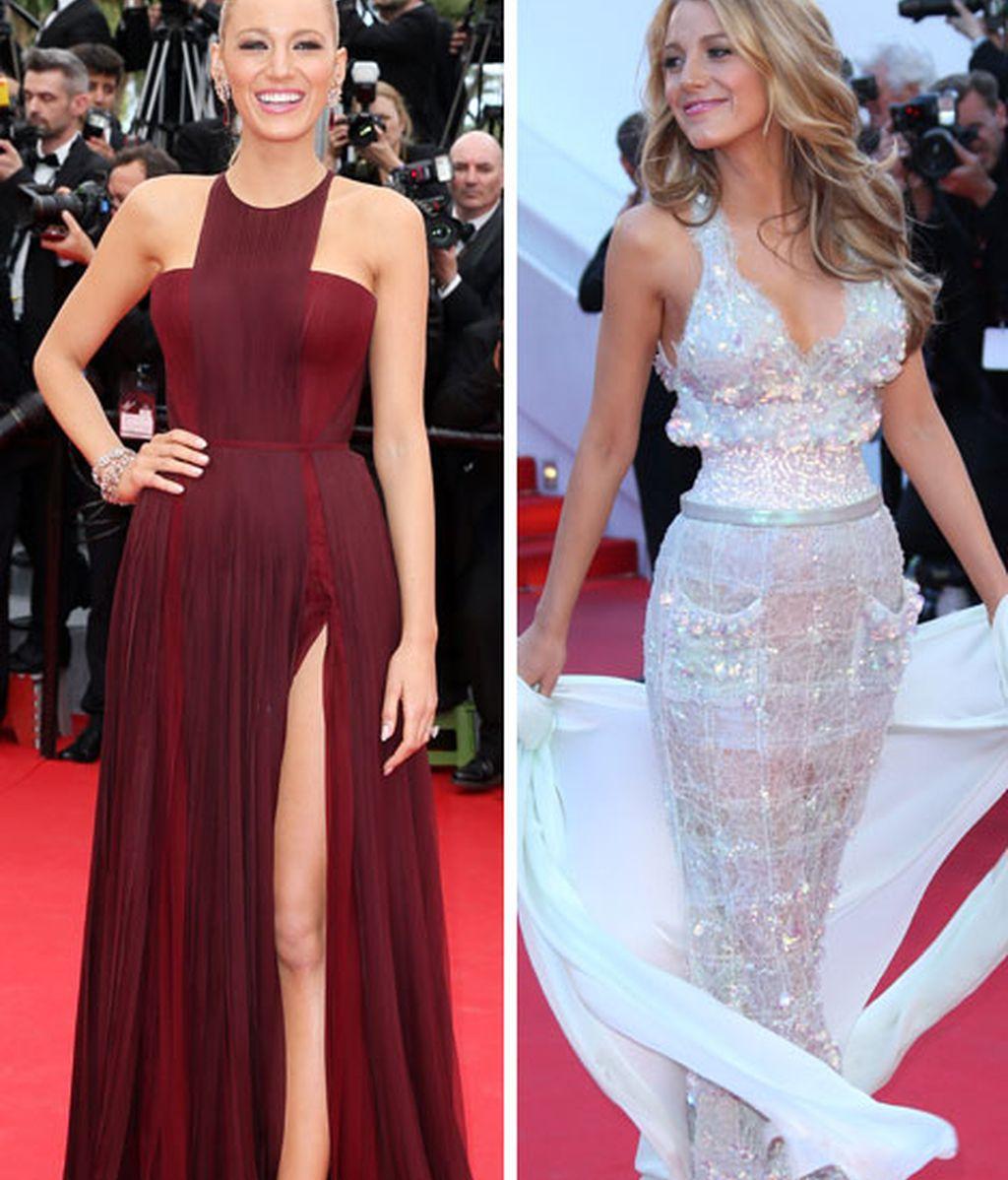 Blake Lively ha impresiona con sus elegantes estilismos en Cannes