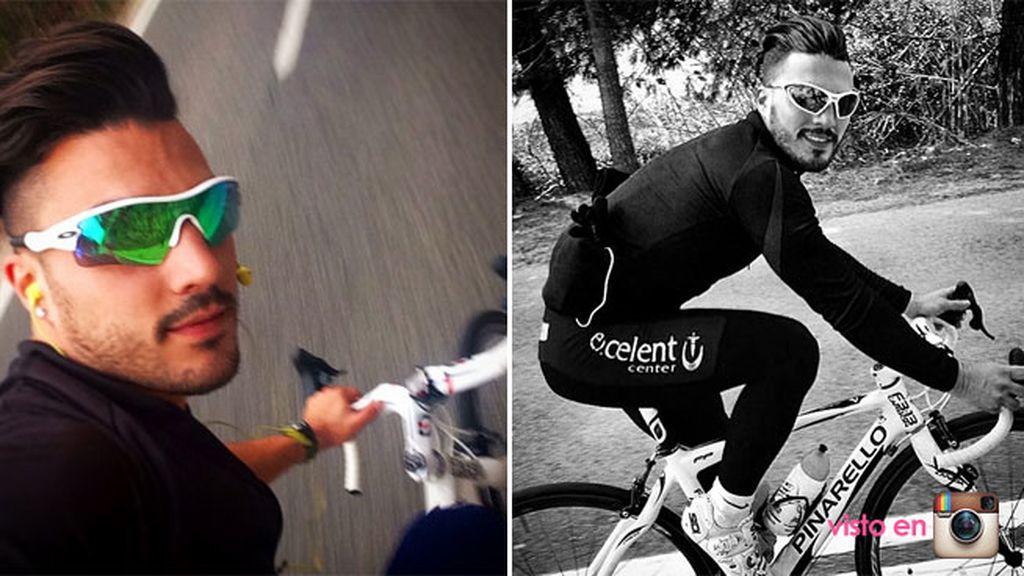 Dejó el ciclismo tras 8 años por varias lesiones y desánimos