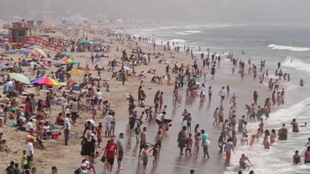 Las playas de Santa Mónica sirvieron para rodar la serie Los Vigilantes de la playa