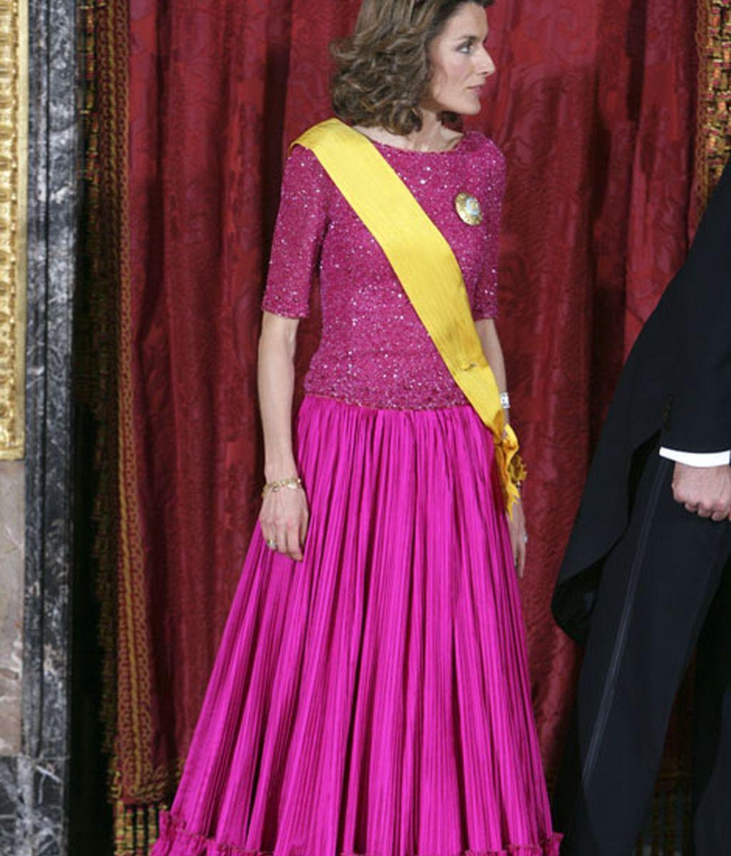 La elegancia de Letizia