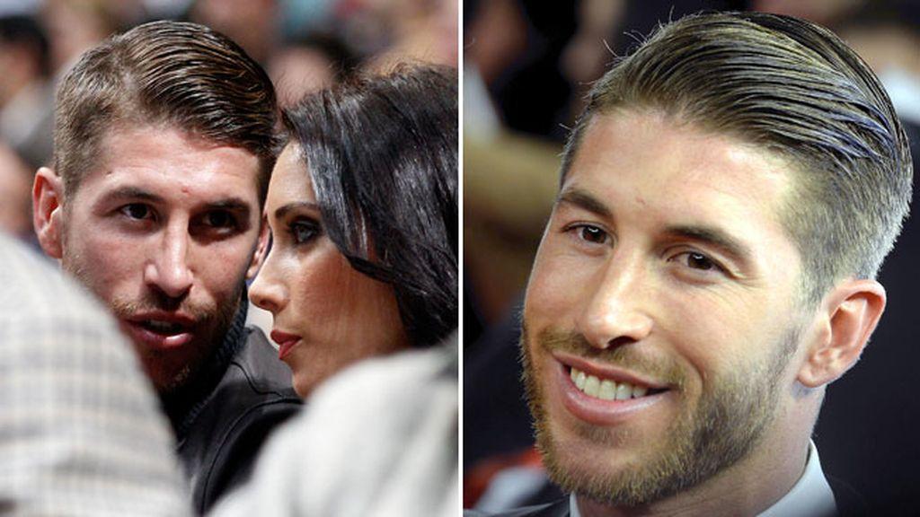 Sergio Ramos, aunque menos marcado, también se anima con el 'side shave'
