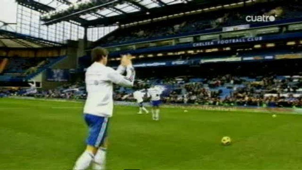 El amargo debut de Fernando Torres con el Chelsea