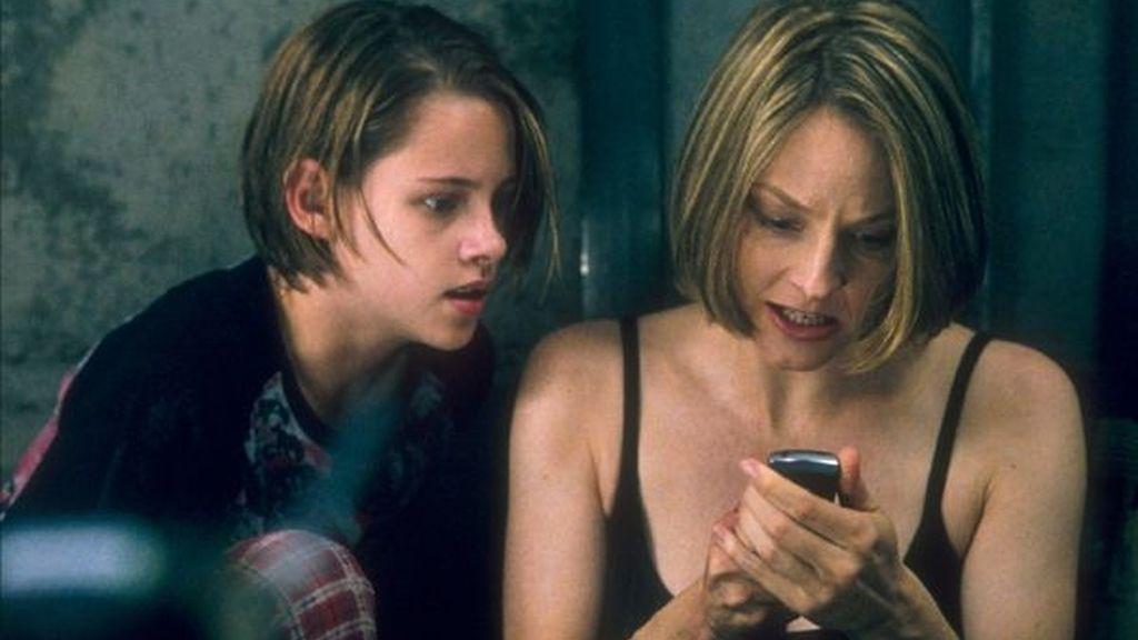 En 2002 protagonizó 'La habitación del pánico', junto a Jodie Foster