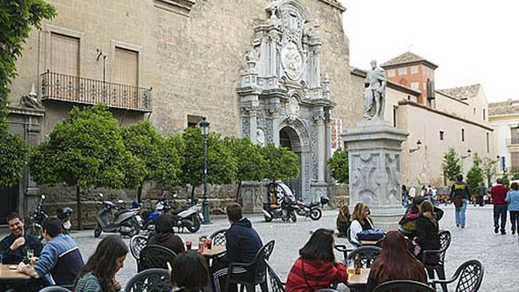Plaza de la Universidad en Granada