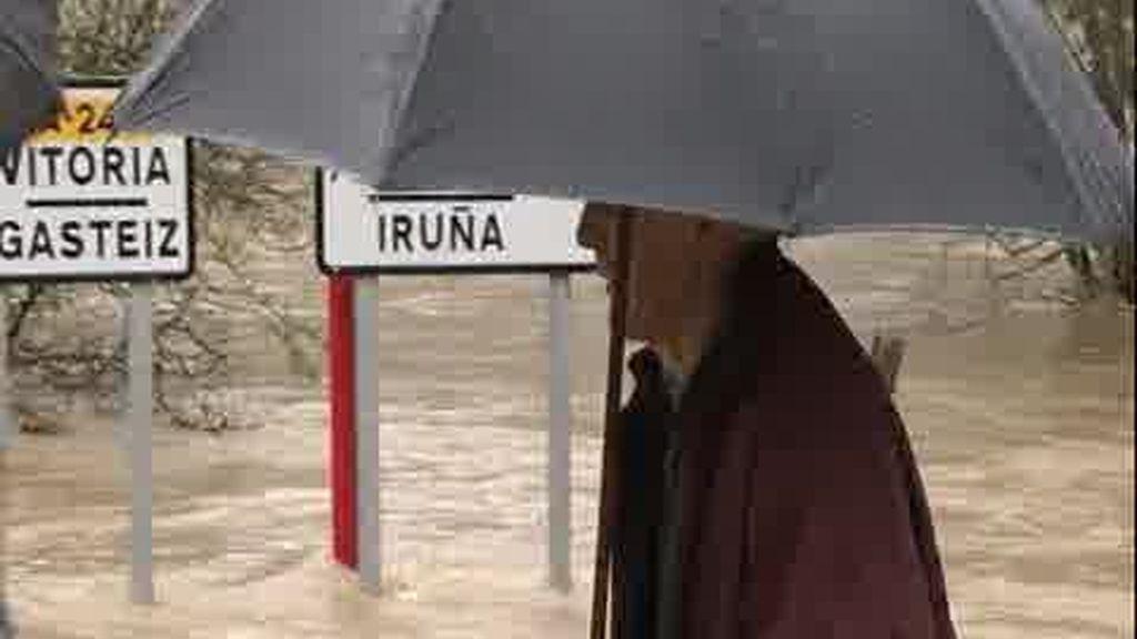 La lluvia deja paso al viento