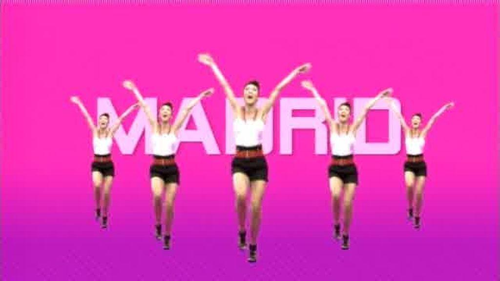 Coreografía para el casting de Fama Revolution en Madrid