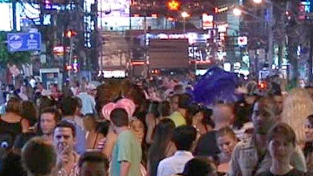 Calles de Tailandia