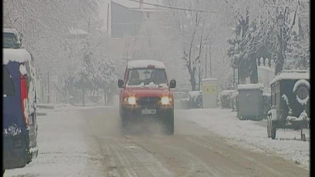 Las nevadas ponen en alerta a buena parte del centro y norte peninsular