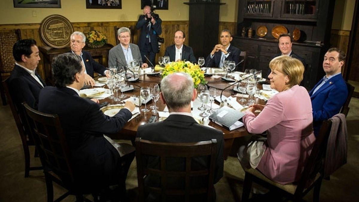 Cumbre del G8. Foto: EFE