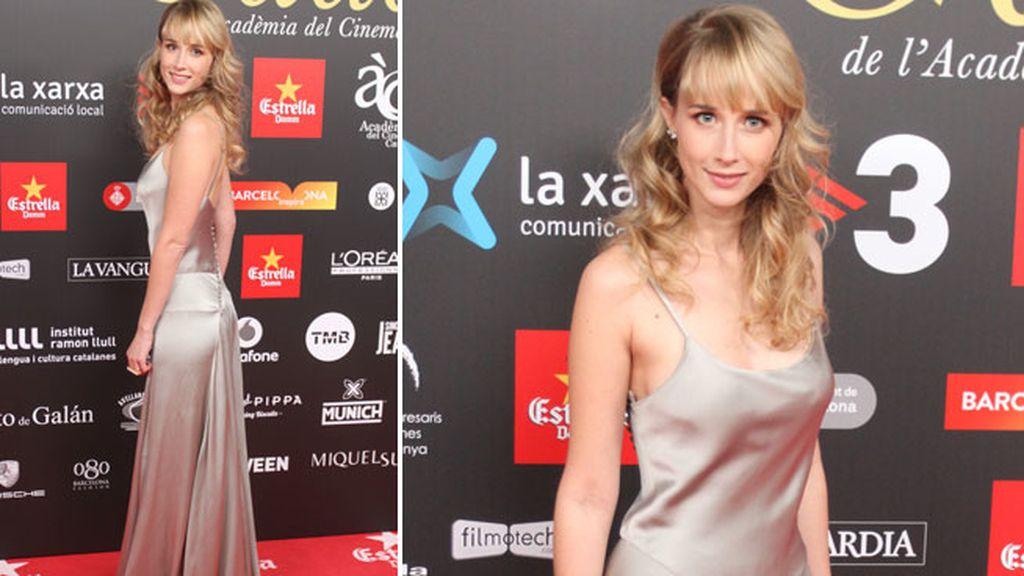 Ingrid García Jonsson se marcó un 'Pataky' en el 'photocall'