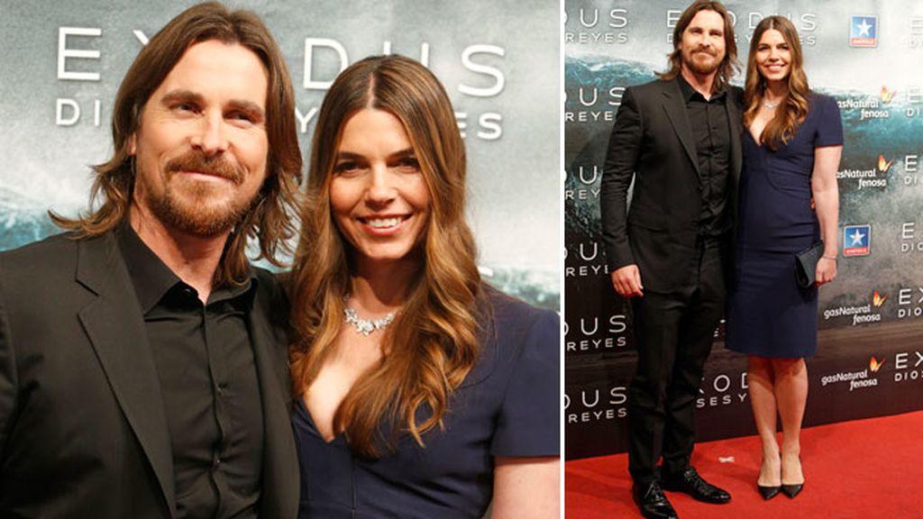 Christian Bale y su mujer Sibi Blazic