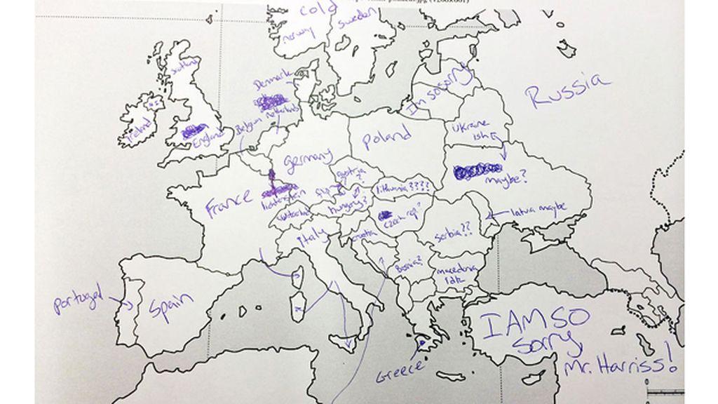 ¿Qué idea de la geografía europea tienen al otro lado del charco?