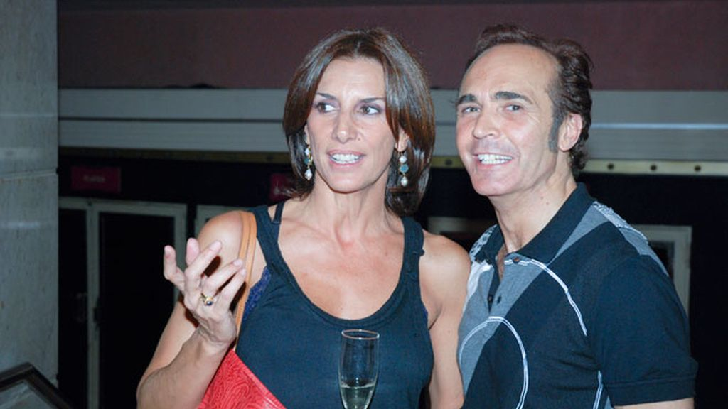 Alex García y Silvia Alonso.