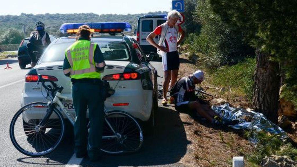 Condenados los policías que se fugaron tras atropellar a una ciclista en Mallorca