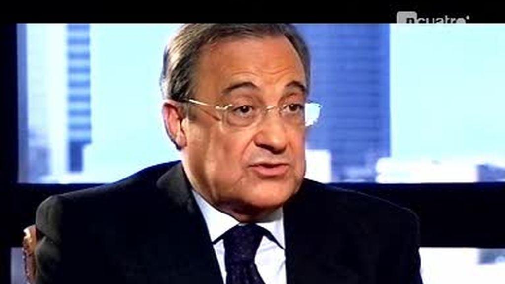Adelanto de la entrevista de Iñaki Gabilondo a Florentino Pérez