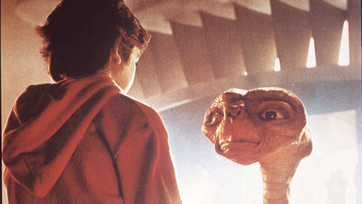 Fotograma de ET del director Steven Spielberg. Foto: GTRES