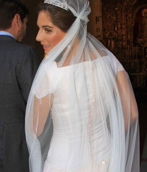 así ha sido el vestido de lourdes montes en su segunda boda con fran