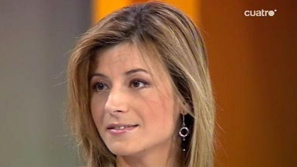 Bibiana Aido, ministra de igualdad, habla de la ley del aborto
