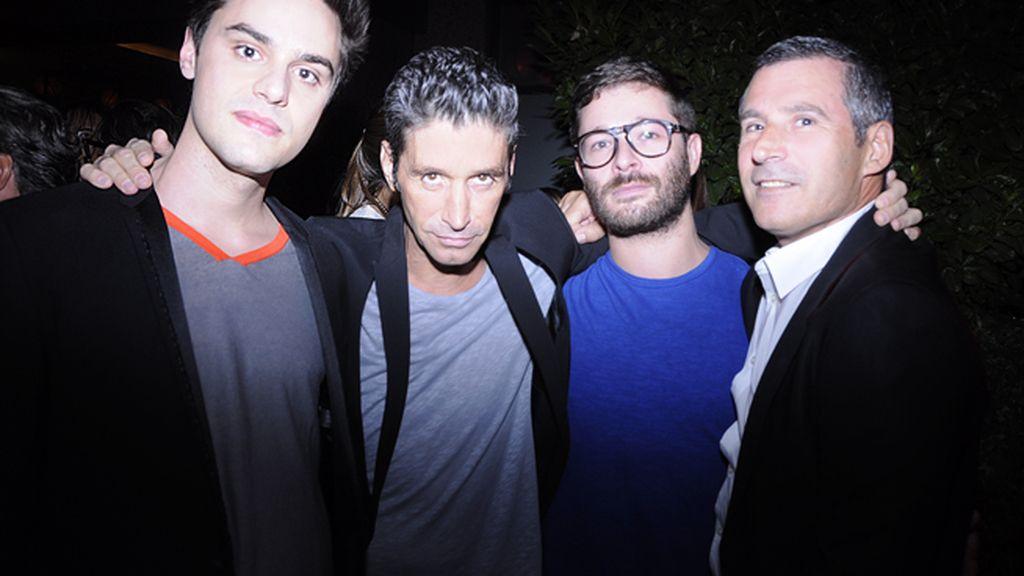 Nacho Caballero, Chic, Jeff Bargues y Matías Rodríguez