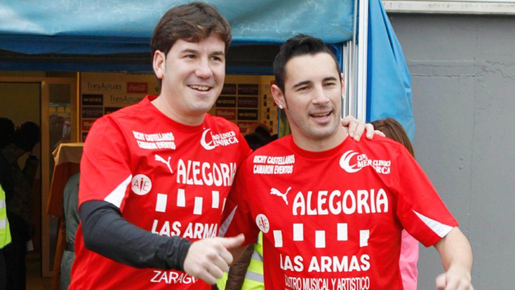 Andy y Lucas, compartiendo color de camiseta