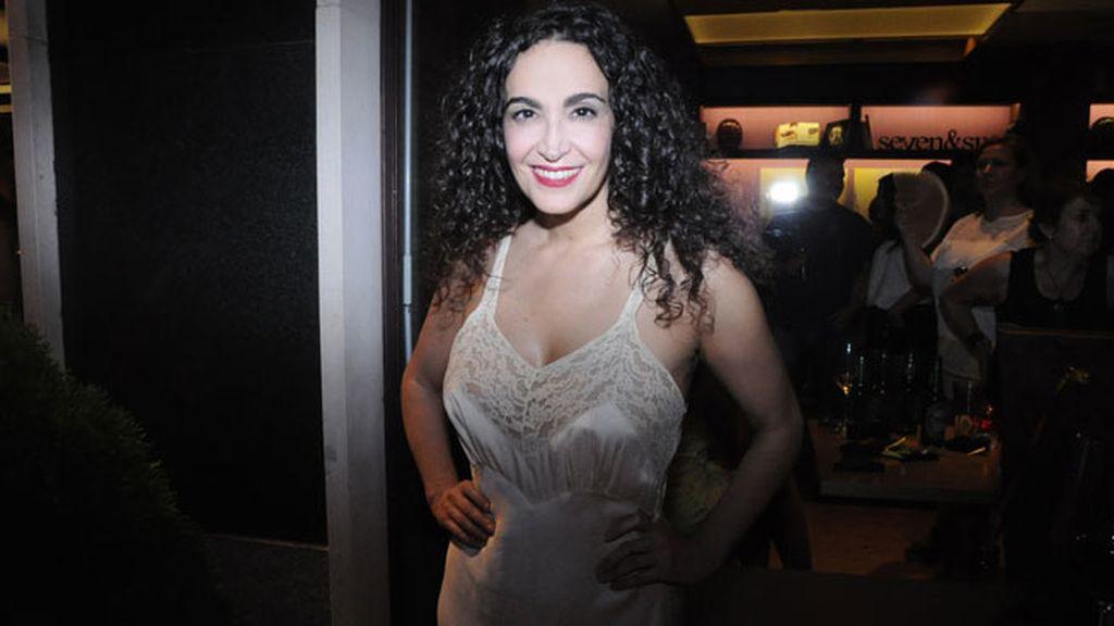 La siempre estilosa Cristina Rodríguez.