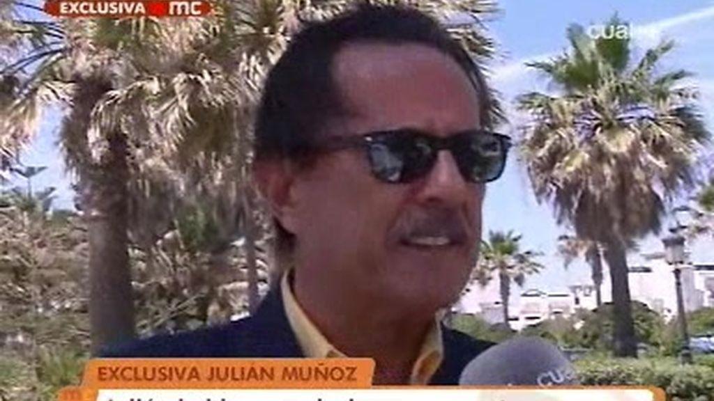 Julián Muñoz habla en exclusiva para las cámaras de Las Mañanas
