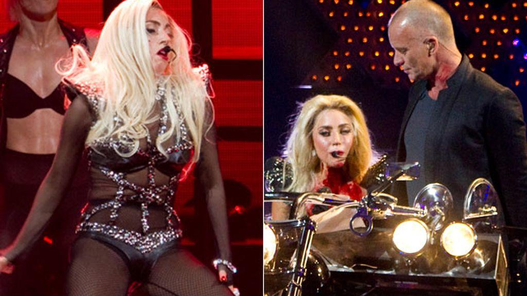 Lady Gaga y Sting