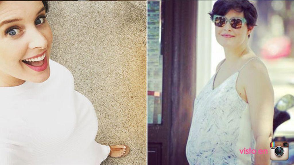 De 4 meses, Tania Llasera nos cuenta a diario su embarazo en redes