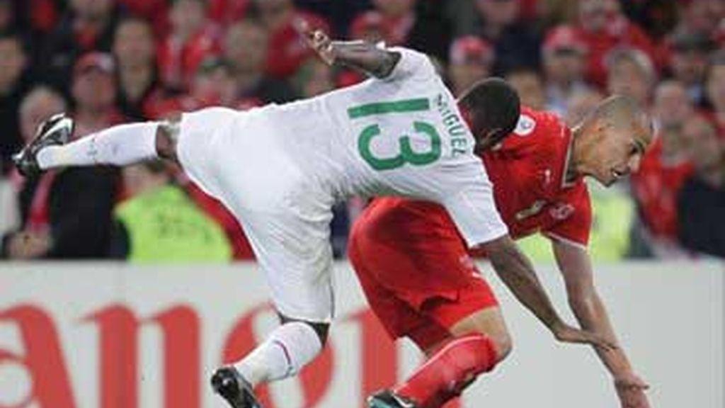 Portugal jugó con un equipo lleno de suplentes. Foto: EFE