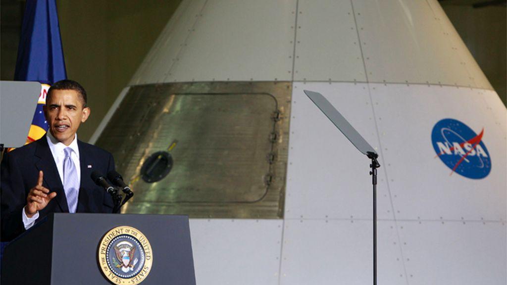 Obama marca nuevos horizontes para la carrera del espacio