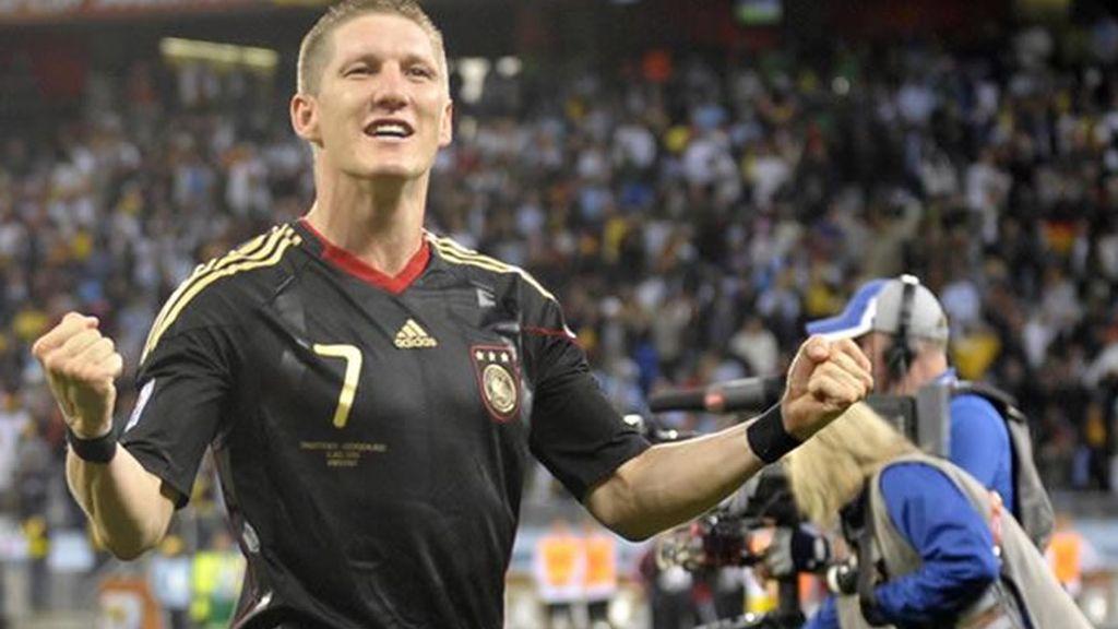Schweinsteiger está brillando en el Mundial.