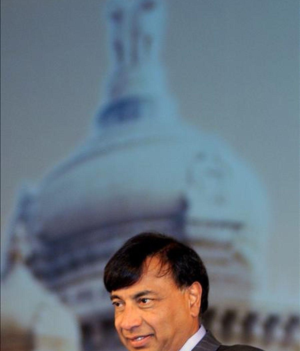 El presidente y director ejecutivo de ArcelorMittal Ltd. Lakshmi N. Mittal. EFE/Archivo
