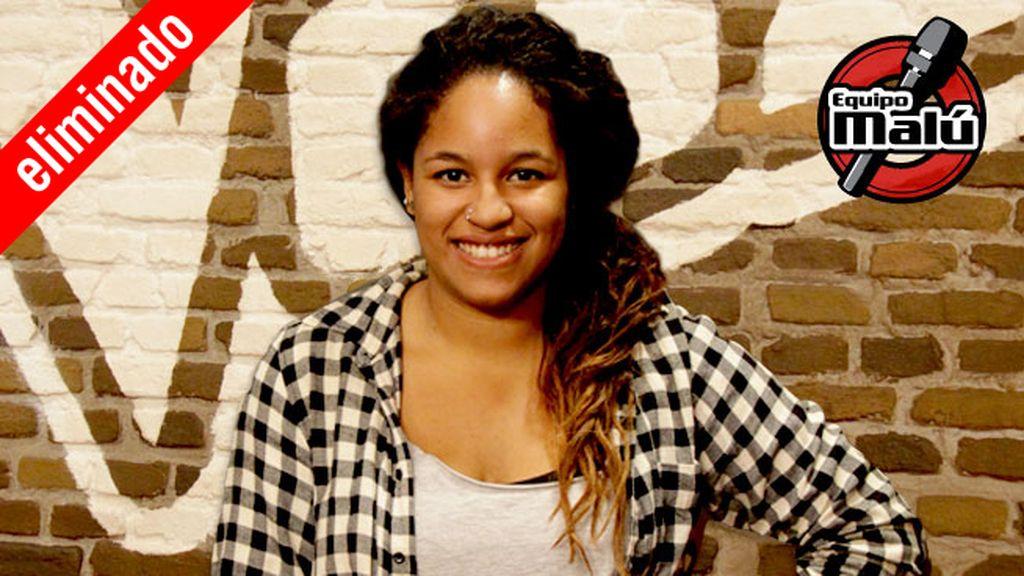Amynata Sow, 21 años, equipo Malú