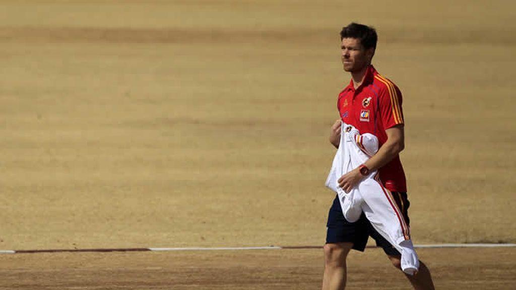 Xabi Alonso es duda frente a Portugal
