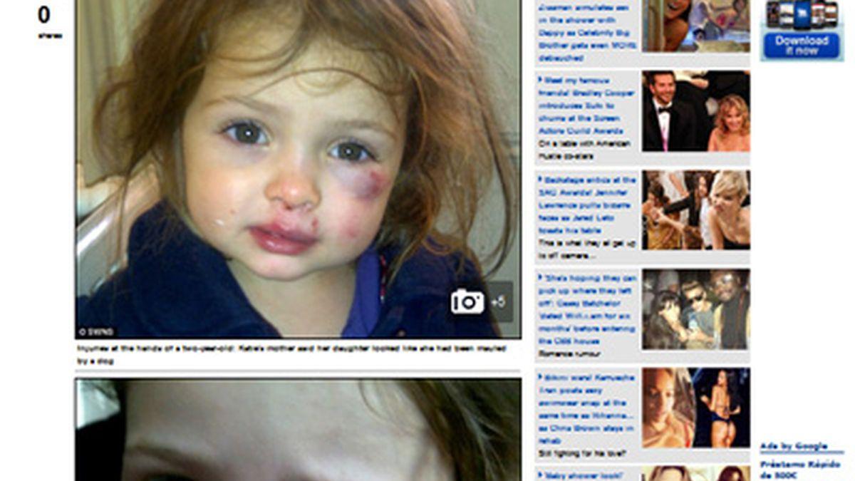 'Chuky', el violento niño de dos años que siembra el pánico entre sus compañero