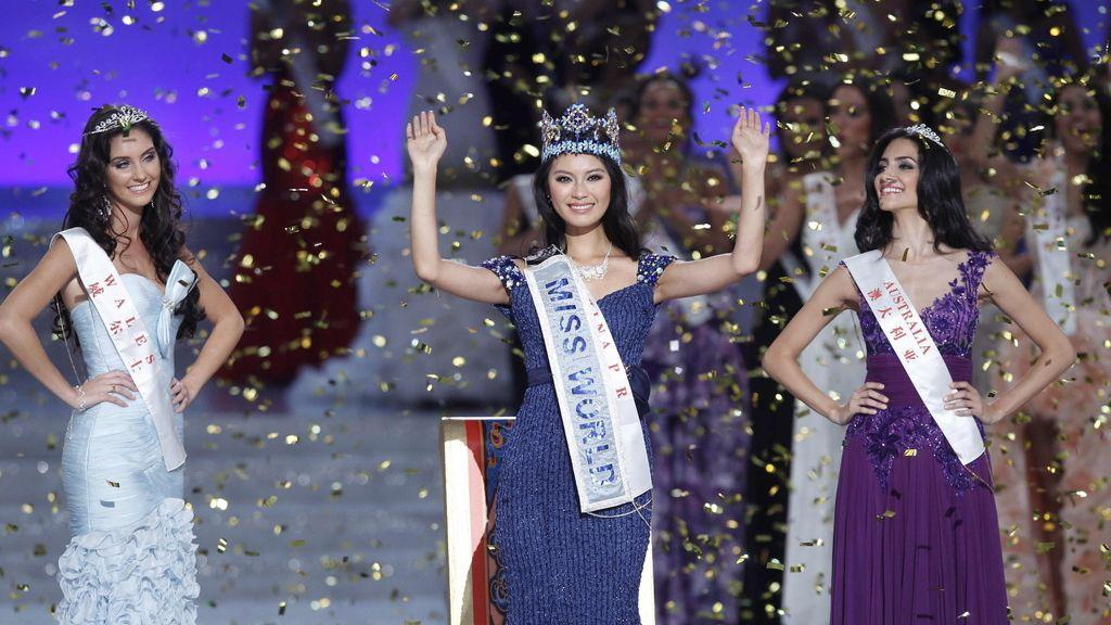 La recién coronada Miss Mundo, la China Wen Xiayu. Foto: EFE