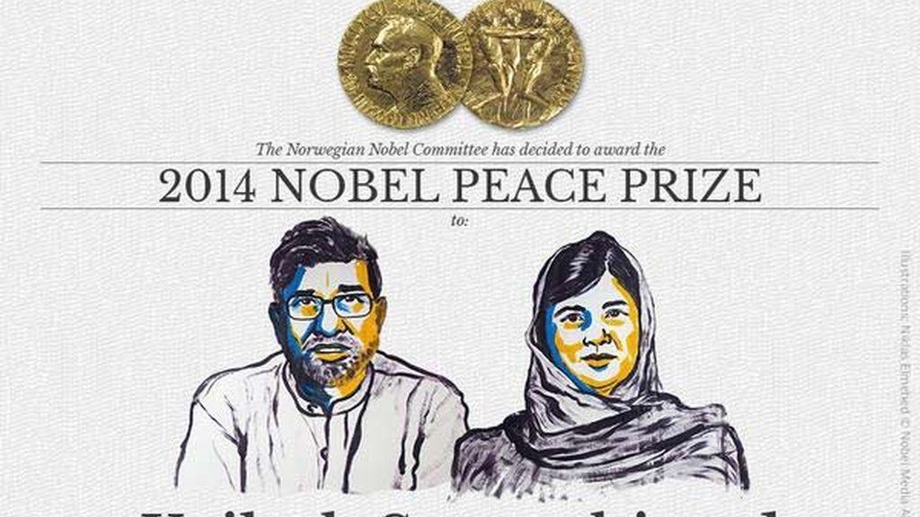 Malala y Kailash Satyarthi, Premio Nobel de la Paz 2014