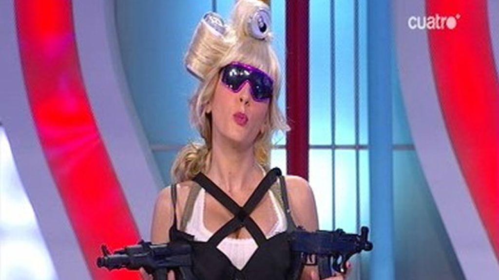 Anna se convierte en Lady Gaga